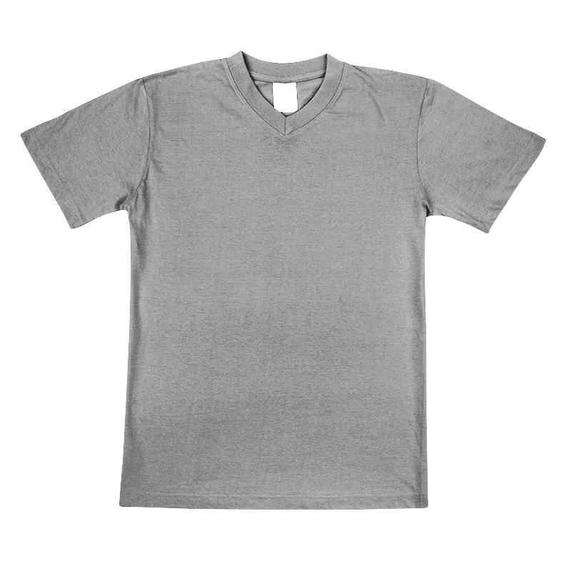 Uniszex V nyakú póló