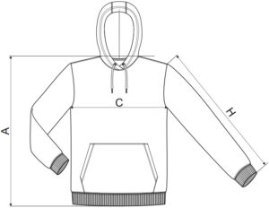 Kapucnis pulóver nyomtatás